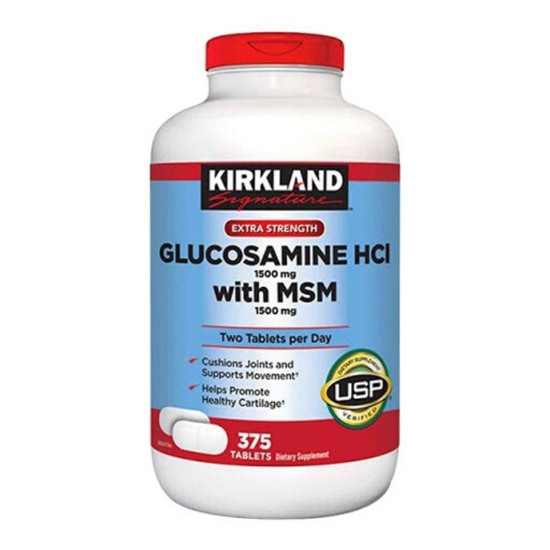 Kirkland Signature Glucosamine HCl with MSM