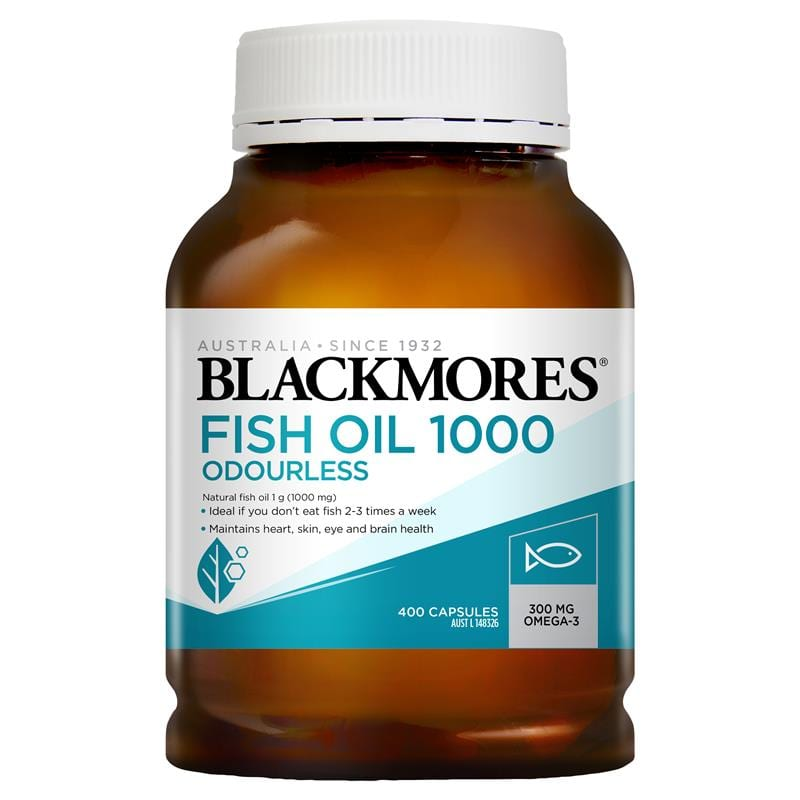 Blackmores Odourless Fish Oil