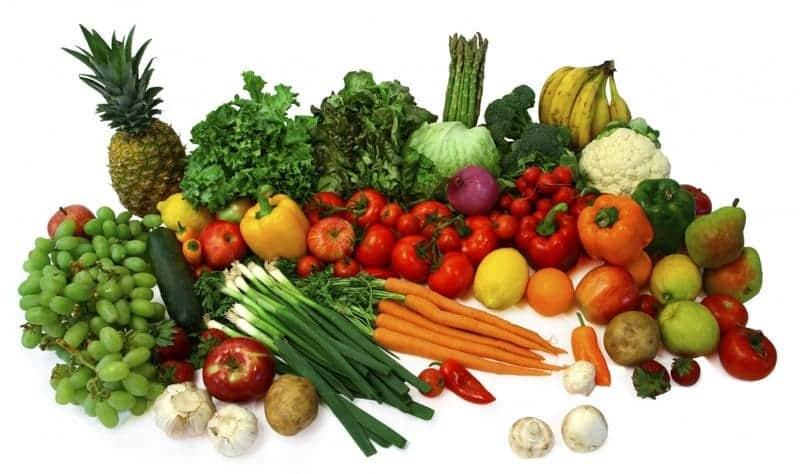 Bổ sung rau củ và trái cây giúp tăng chiều cao