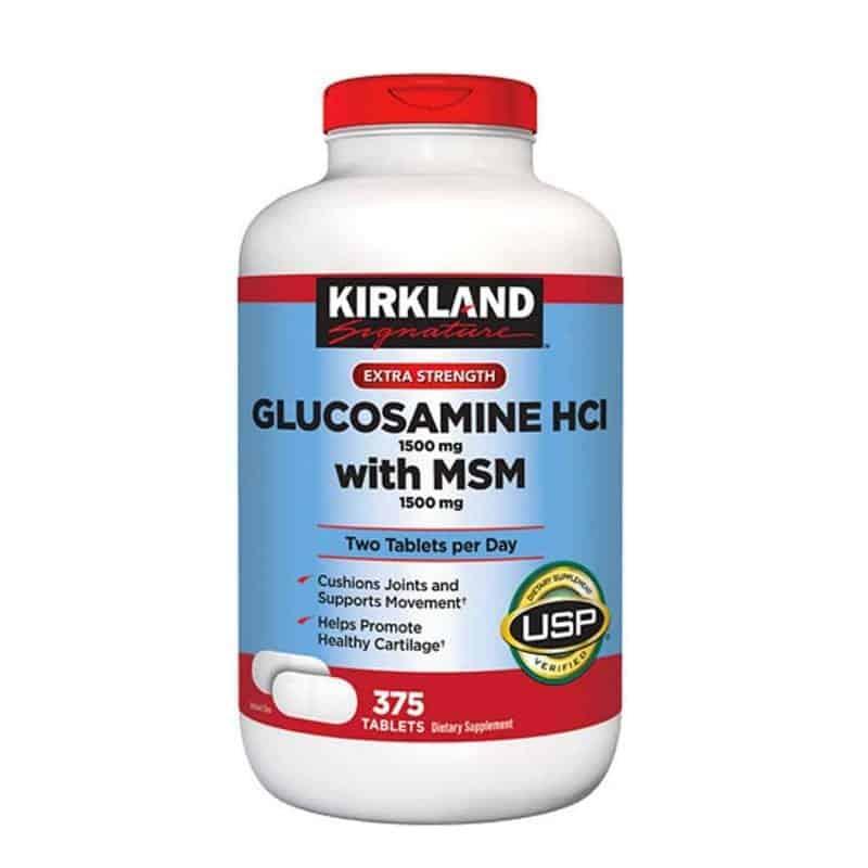 Kirkland-Glucosamine-HCL-1500mg-With-MSM