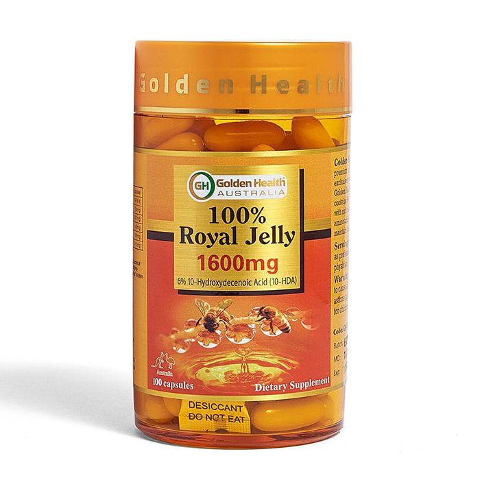 Golden Health Royal Jelly 1600mg
