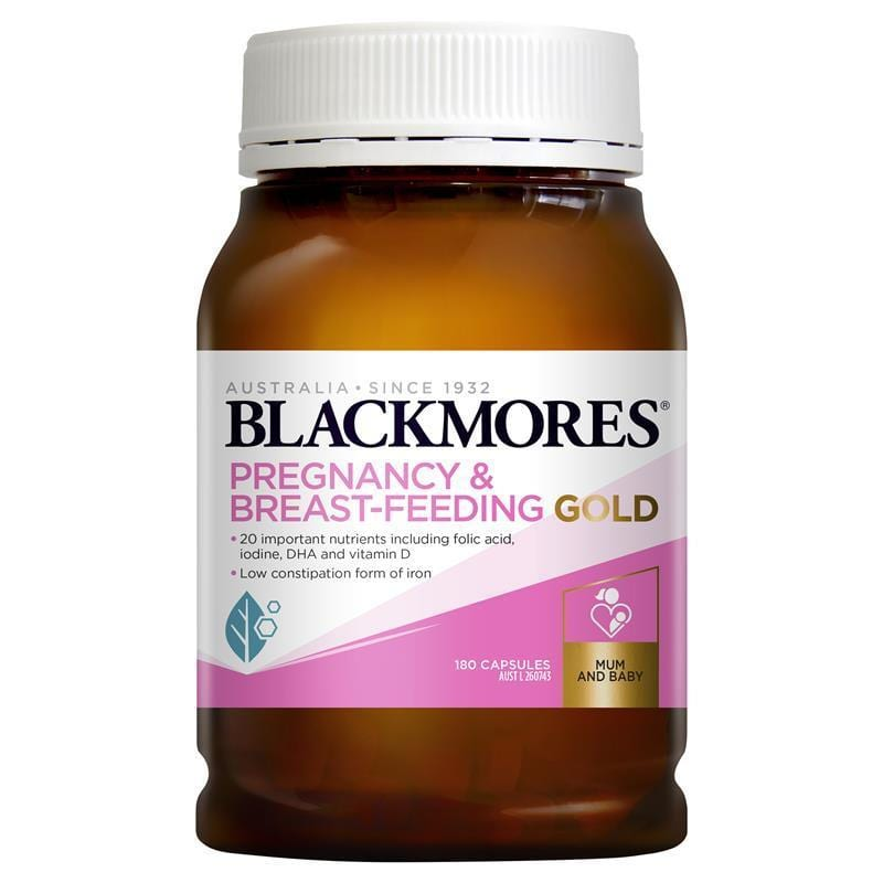 Blackmores Odourless Pregnancy Breast-Feeding Gold