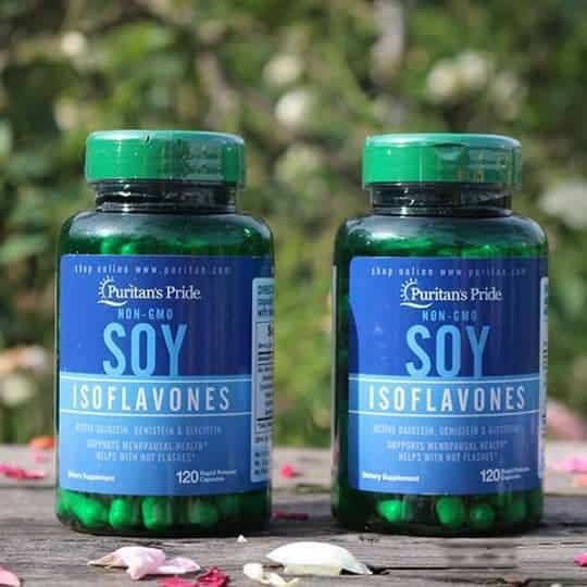 Vien uong Puritan Non GMO Soy Isoflavones