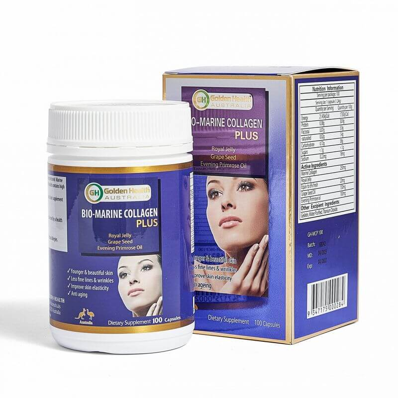 Golden Health Bio-Marine Collagen Plus